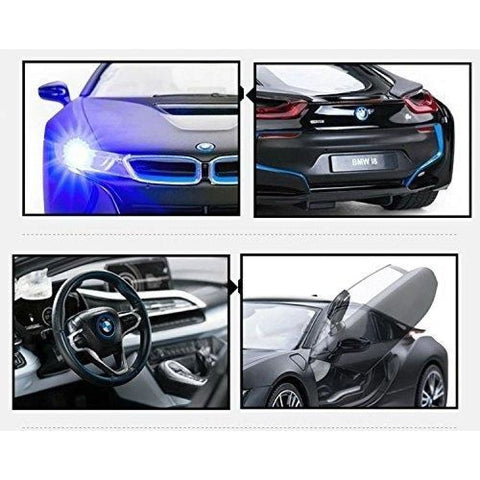 1:14 RC BMW i8 Authentic w/Open Doors RC Car Black
