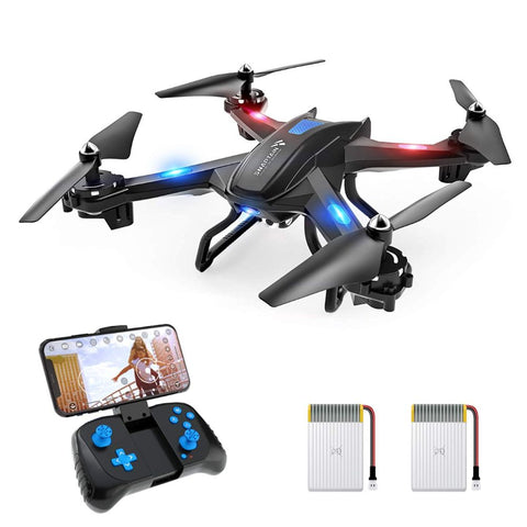 S5C WiFi FPV Drone with 720P HD Camera, Voice & Gesture Control RC Quadcopter for Beginners