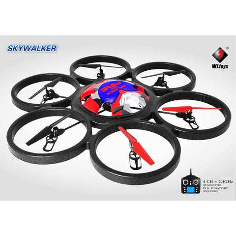 2.4GHz 4CH 6 Axis Gyro RC Quadcopter