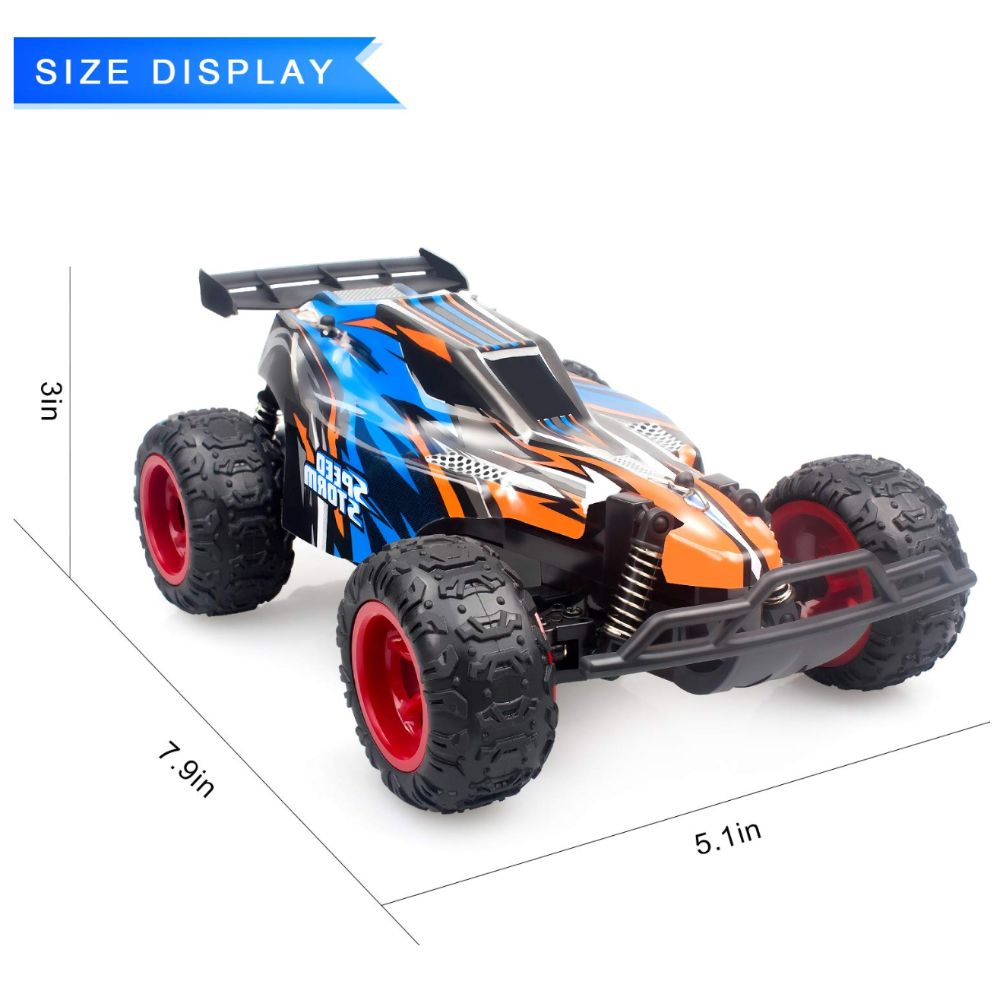 Remote Control Car, 2.4 GHZ 1: 22 High Speed Racing Car with Four Batteries