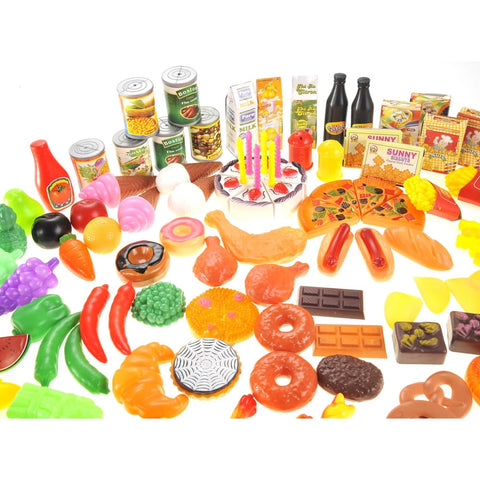 Deluxe Pretend Play Food Assortment Set
