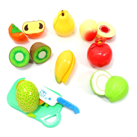 Kitchen Fun Cutting Fruits Food Playset