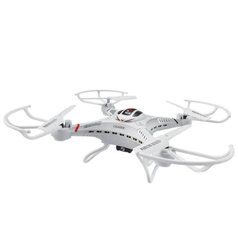 RC Drone with 2MP Camera & 5.8 GHz FPV Monitor White