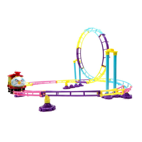 Roller Coaster Train Building Toy (75 Pcs)