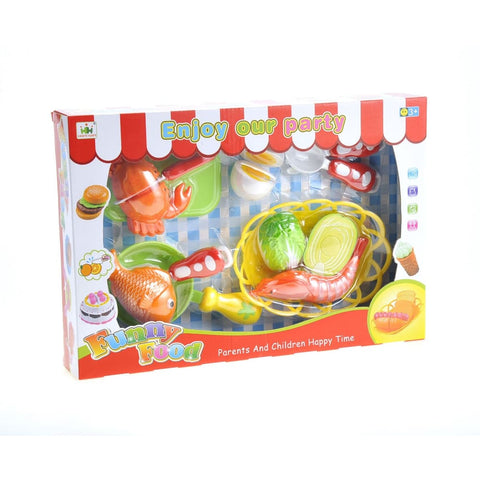 Seafood Cutting Food Playset