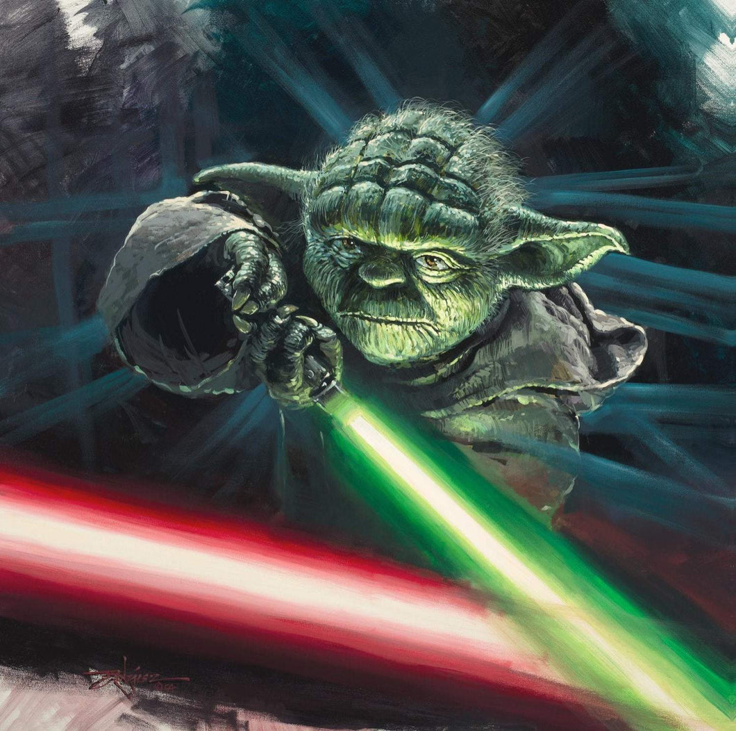 Good vs Evil by Rodel Gonzalez (wrapped canvas collectible), Star Wars