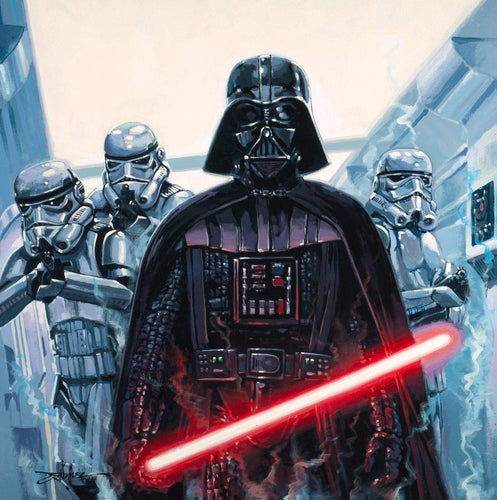Vader by Rodel Gonzalez (wrapped canvas collectible), Star Wars