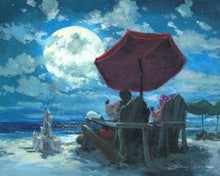 Load image into Gallery viewer, Under The Moonlight by James Coleman (fine art poster)