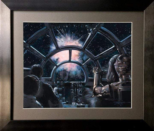 3720 to 1 by Rodel Gonzalez  (framed fine art poster), Star Wars
