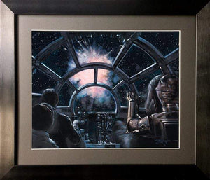 3720 to 1 by Rodel Gonzalez  (framed fine art on paper), Star Wars