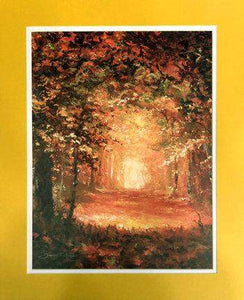 The Colors Of Fall by James Coleman (matted print)
