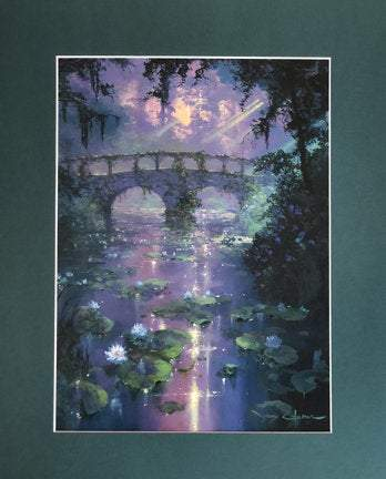 The Silence of Light by James Coleman (matted print)