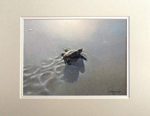 First Light by Rodel Gonzalez (matted print)