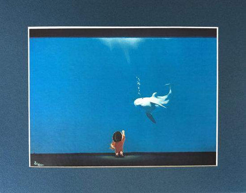 Aquarium by Rob Kaz (matted print)