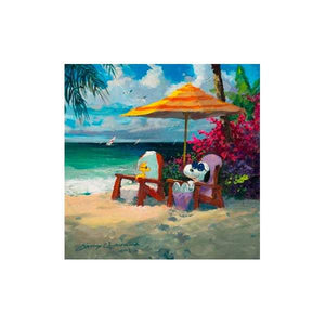 Summer Livin' by James Coleman  (giclee on paper), Peanuts