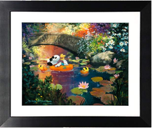 Load image into Gallery viewer, Lazy Days by James Coleman (framed giclee on paper), Peanuts