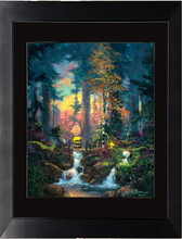 Load image into Gallery viewer, Sanctuary In The Woods by James Coleman (framed giclee on paper), Peanuts