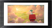 Load image into Gallery viewer, The Dawn Patrol by Rob Kaz (framed giclee on paper), Peanuts