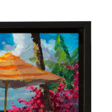 Load image into Gallery viewer, Summer Livin' by James Coleman (giclee on canvas, optional framing), Peanuts