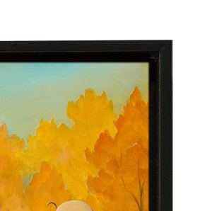 The Fall Season by Rob Kaz (giclee on canvas, optional framing), Peanuts