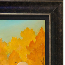 Load image into Gallery viewer, The Fall Season by Rob Kaz (giclee on canvas, optional framing), Peanuts