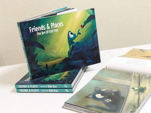 Friends & Places: The Art of Rob Kaz, art book