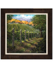 Load image into Gallery viewer, Almost Harvest Time by James Coleman (framed LE canvas giclee)