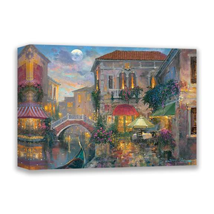 An Evening In Venice by James Coleman (wrapped canvas collectible)