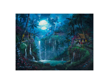 Load image into Gallery viewer, Enchanted Paradise by James Coleman (framed canvas giclee)