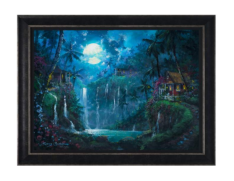 Enchanted Paradise by James Coleman (framed canvas giclee)