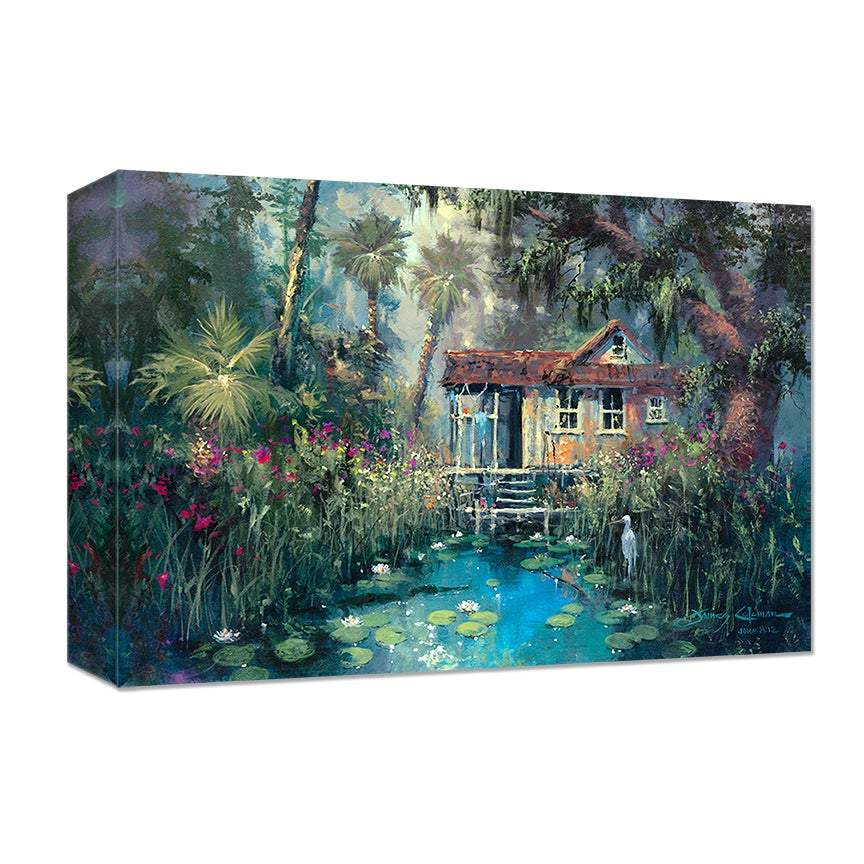 Floridays by James Coleman (wrapped canvas collectible)