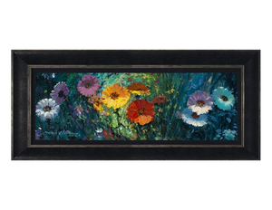 Flowers in Bloom by James Coleman (framed canvas giclee)