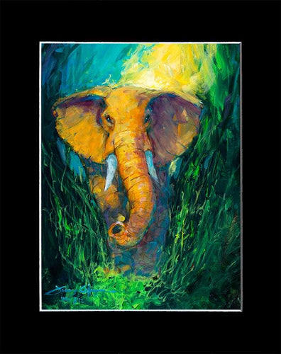 Gentle Giant by James Coleman (matted print)