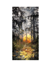 Load image into Gallery viewer, Golden Glow by James Coleman (framed LE canvas giclee)