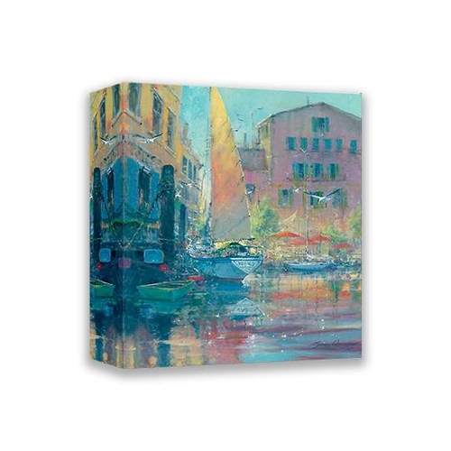 Harbour Sounds by James Coleman (wrapped canvas collectible)