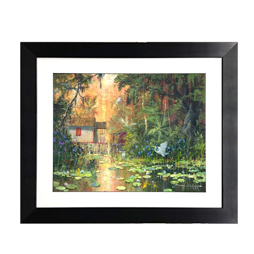 Hidden Sanctuary by James Coleman (framed fine art on paper)