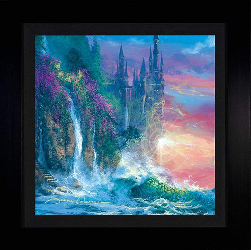 Magical Memories by James Coleman (framed metal print)