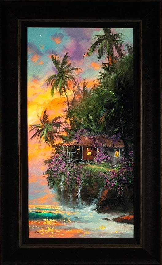 Paradise Home by James Coleman (framed canvas giclee)