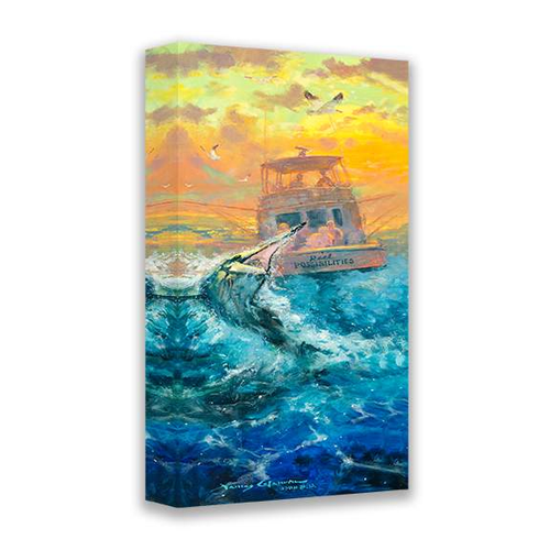 Reel Possibilities by James Coleman (wrapped canvas collectible)