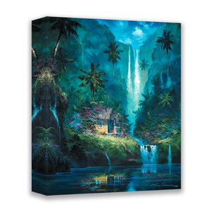 Reflective Paradise by James Coleman (wrapped canvas collectible)