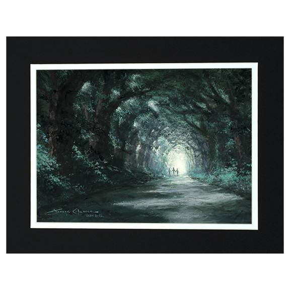 Tunnel Of Hope by James Coleman (matted print)