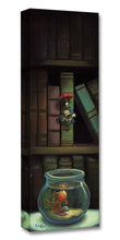 Load image into Gallery viewer, ''Dropping In'' by Rob Kaz, Giclée on Canvas, Disney Treasure, Pinocchio