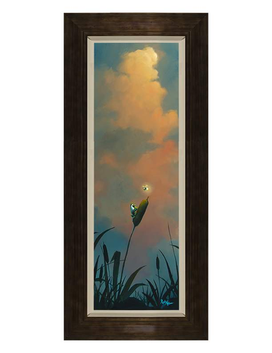 Cattails by Rob Kaz (framed canvas giclee)