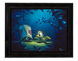 I've Got All Night by Rob Kaz (framed canvas giclee)