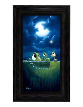 Load image into Gallery viewer, Light Conversation by Rob Kaz (framed LE canvas giclee)