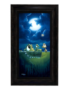 Light Conversation by Rob Kaz (framed LE canvas giclee)