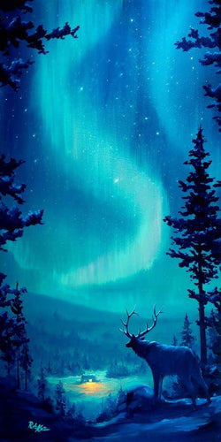 Northern Lights by Rob Kaz (original)