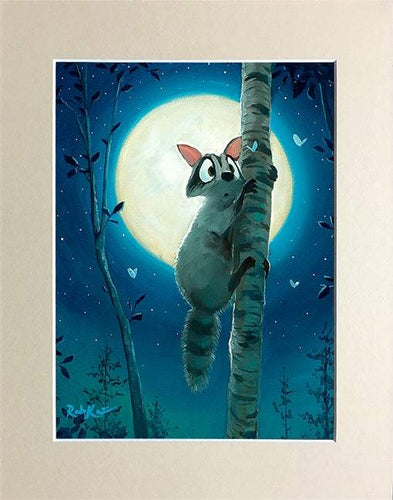 Up In The Tree by Rob Kaz (matted print)