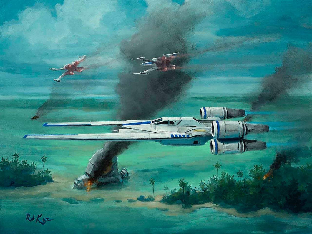 U-Wing Over Scarif by Rob Kaz (original)