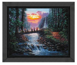 Forest Bridge by Rodel Gonzalez (fine art poster)
